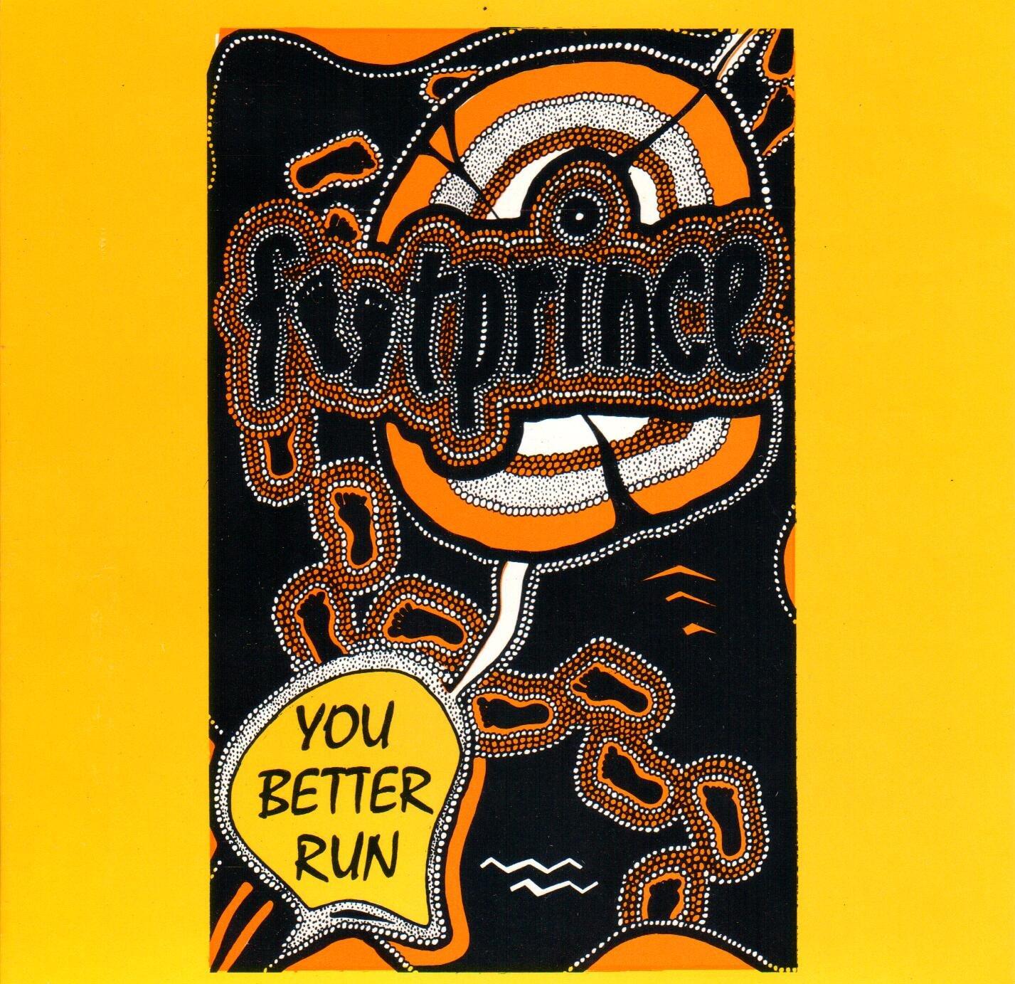 You Better Run Front Cover