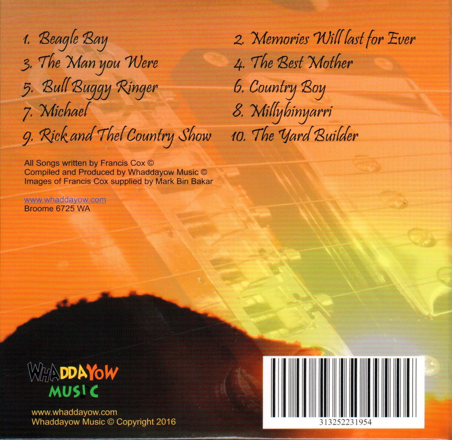 Real Country Rear Cover
