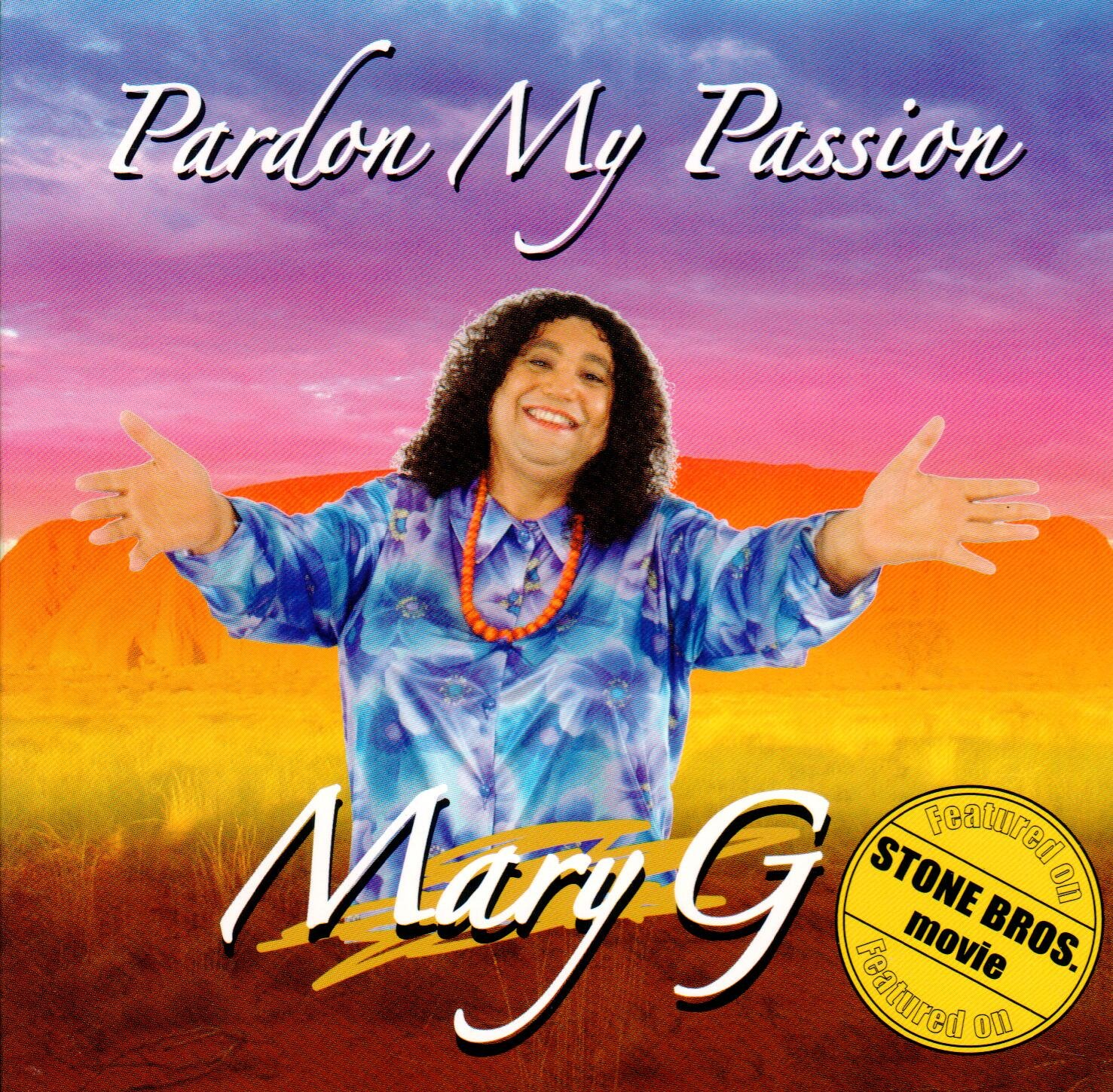 Pardon My Passion (Mary G) Front Cover