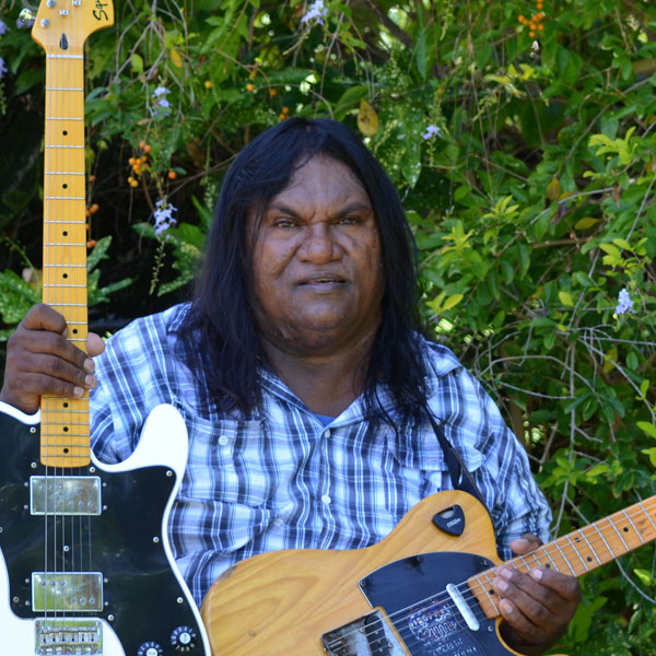 Francis Cox, indigenous country music artist from the Kimberley, Western Australia
